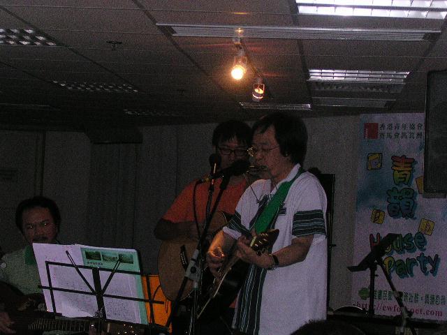 2004.10.02 (六) - 第三十四次每月青韻民歌音樂派對 - 青韻House Party三週年