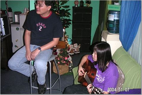 2004.11.07 (日) - 探訪Amy & Gordon的Studio!