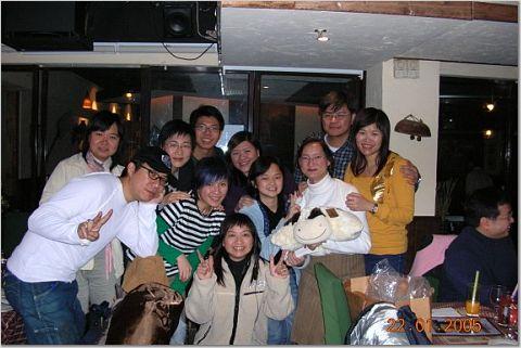 2005.01.22 - Lydia生日吹水夜