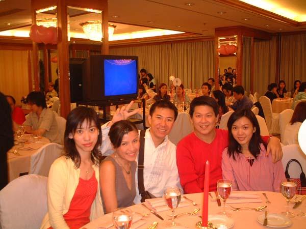 2002.09.14 - 好友Allan及KK的婚宴 1