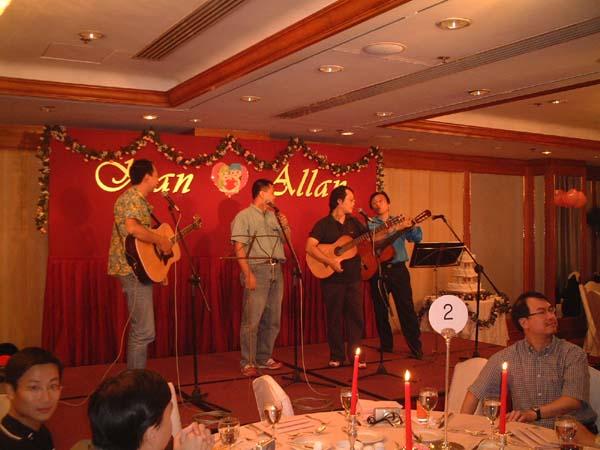 2002.09.14 - 好友Allan及KK的婚宴 2