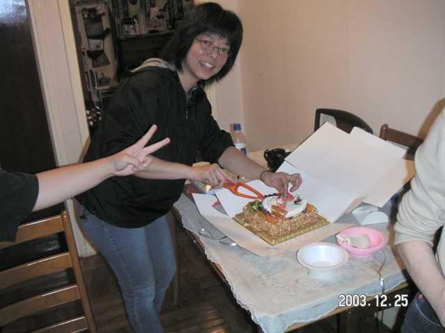 2003.12.25 (四) - Lydia家中的X'mas Party 2