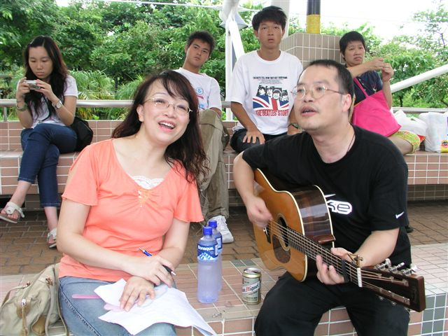 31/7/05 仲夏黃昏民歌欣賞會