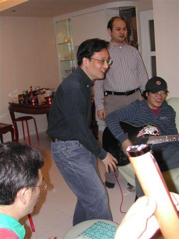 Michael 叔叔家新年團拜 (2006)