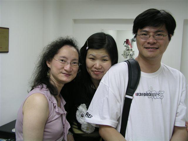2006.05.20 (六) - 『閃爍目光』驗眼中心/眼鏡舖開業誌慶