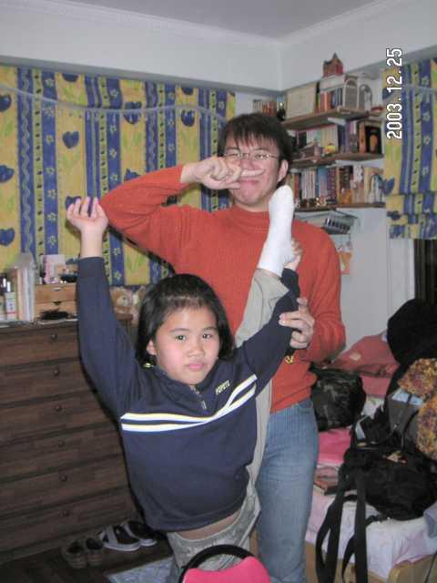 2003.12.25 (四) - Lydia家中的X'mas Party 6