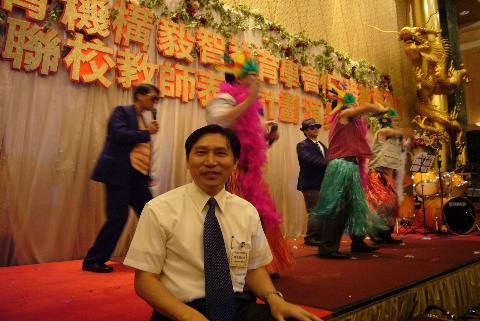 2006.10.13 (五) - Qiang123 @ 匯知中學晚宴