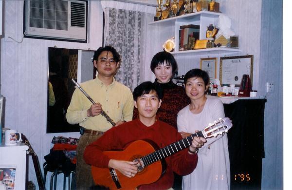 1995.01.11 - Qiang 123 & 秋嬋樂隊