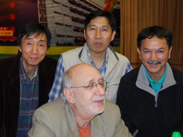 2008.02.29 - Peter Yarrow and Young Strings at CSBC Secondary School