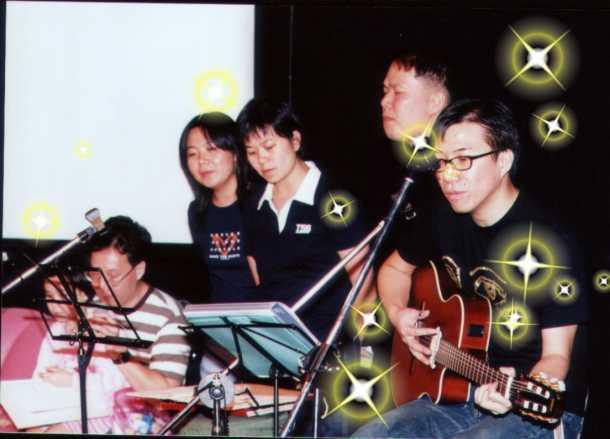 2001.08.04 - 青韻二十週年音樂會-- {Folk一宵} 8
