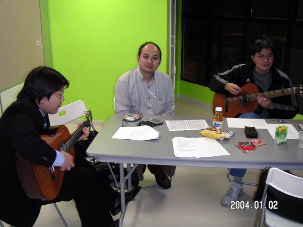 2004.01.02 - 青韻練歌實錄 - Keith, Chris & Tony