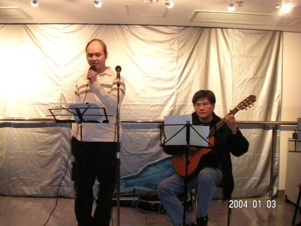 2004.01.03 (六) - 第25次每月青韻民歌音樂派對 - Chris & Tony