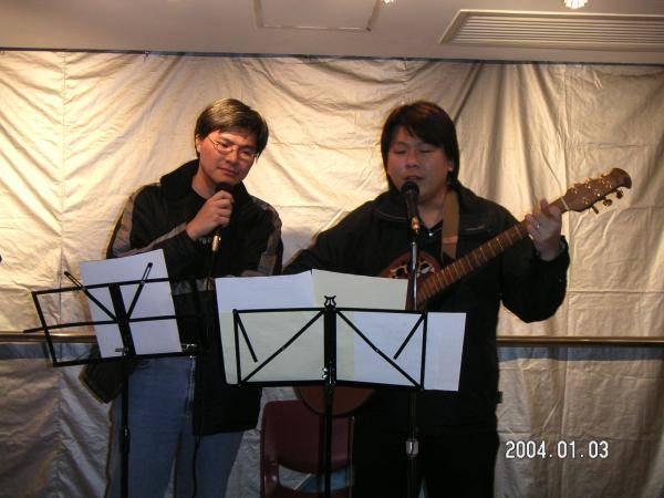 2004.01.03 (六) - 第25次每月青韻民歌音樂派對 -  Tony & Keith