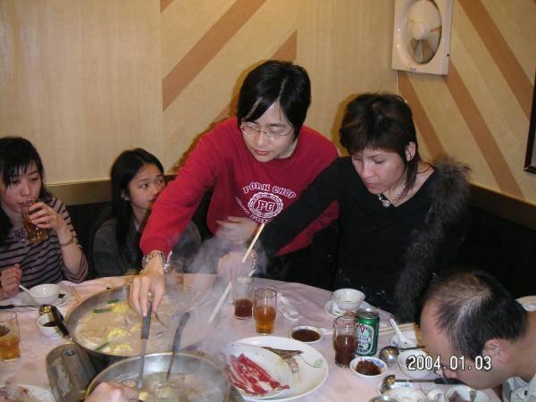 2004.01.03 (六) - 第25次每月青韻民歌音樂派對 - 謝盈 & Ivy