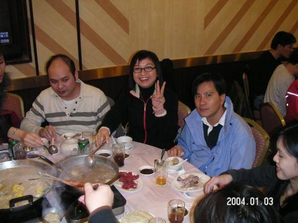 2004.01.03 (六) - 第25次每月青韻民歌音樂派對 - Chris, 導師Florence & Sammy