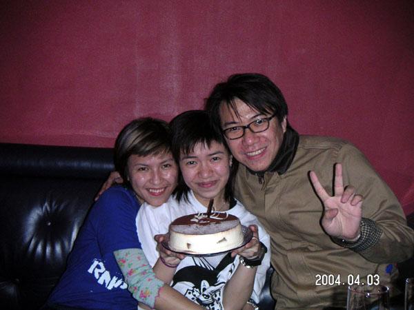 2004.04.03 (六) - 青韻舊組員Stephanie的生日會