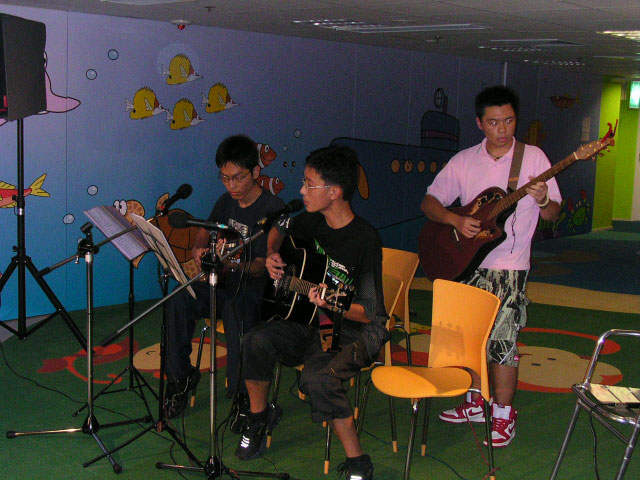 2004.07.03 (六) - 第三十一次每月青韻民歌音樂派對 - Natural Band Family
